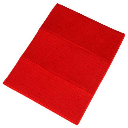 Adithya Dish Drying Mat - Red, 38 cm x 51 cm