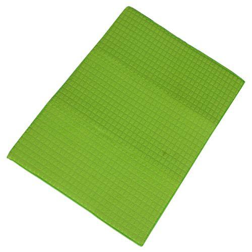 Adithya Dish Drying Mat - Green, 38 cm x 51 cm