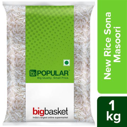 BB Popular New Rice/Akki - Sona Masoori, 1 kg