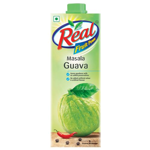 Real Fruit Juice - Masala Guava, 1 L
