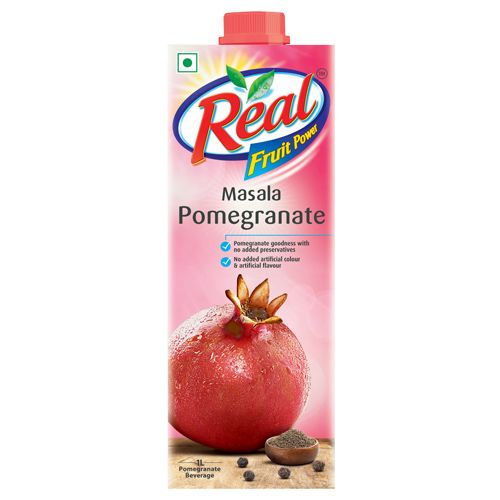 Real Fruit Juice - Masala Pomegranate, 1 L