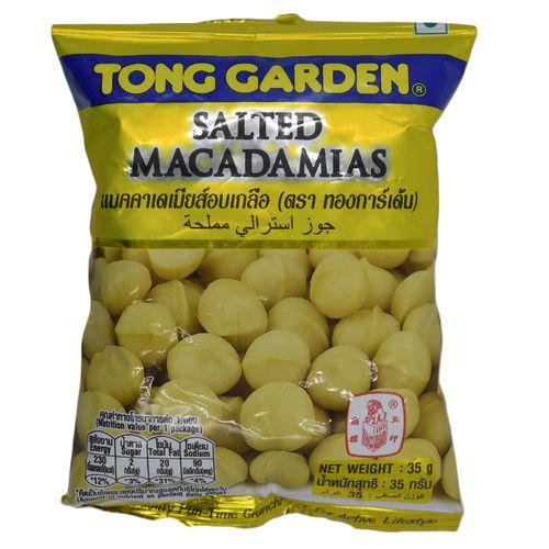 Tong Garden Salted Macadamias, 35 gm