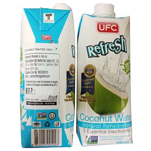 Tong Garden 100% Coconut Water, 500 ml Tetra Pack