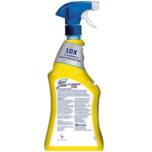 Lizol All Purpose Cleaner - Power, Trigger, 450 ml