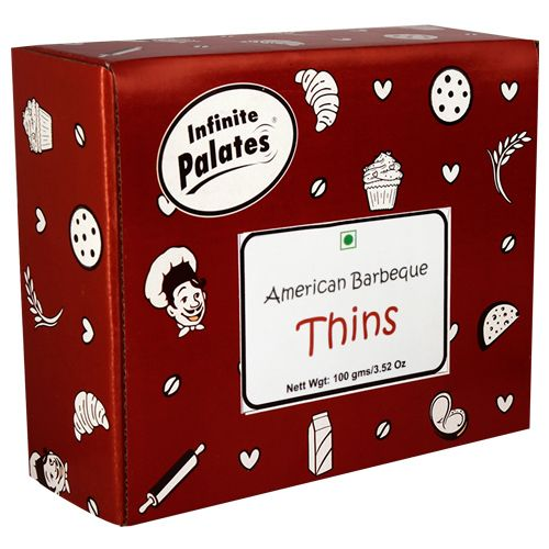 Infinite Palates Thins - American, Barbeque, 100 g