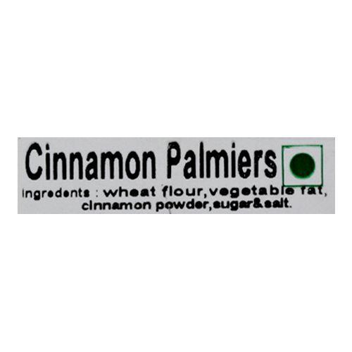 Infinite Palates Palmiers - Cinammon, 120 gm