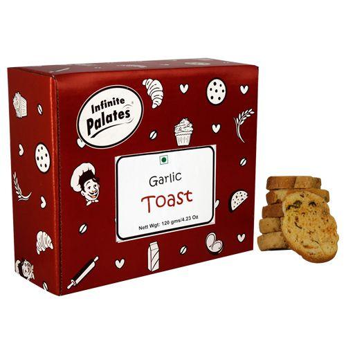 Infinite Palates Toast - Garlic, 120 gm
