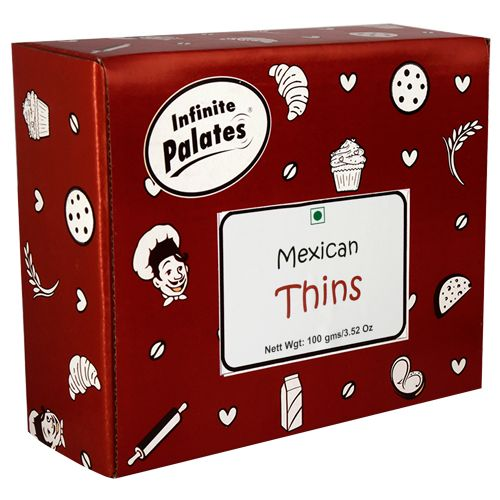 Infinite Palates Thins - Mexican, 100 gm