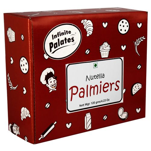 Infinite Palates Palmiers - Nutella, 120 gm