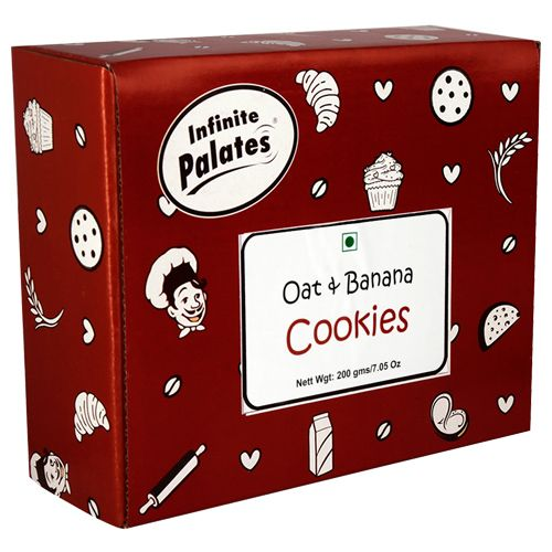 Infinite Palates Cookies - Oat & Banana, 200 g