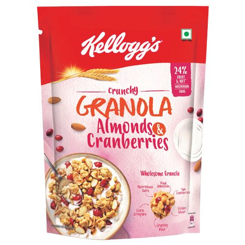 Kelloggs Crunchy Granola Almonds and Cranberries, 150 g