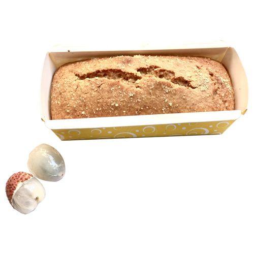 BHealthy Litchi Cake - Wholewheat, Eggless, 500 gm