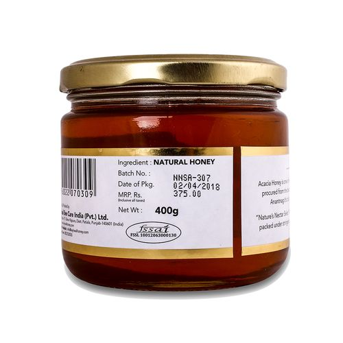 Nature's Nectar Select Honey - Acacia, 400 gm
