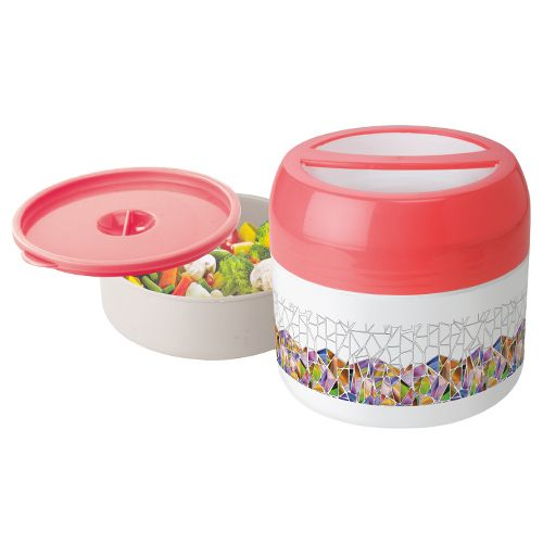 Asian Tiffin - Mini Hot Meal, Red, 500 ml