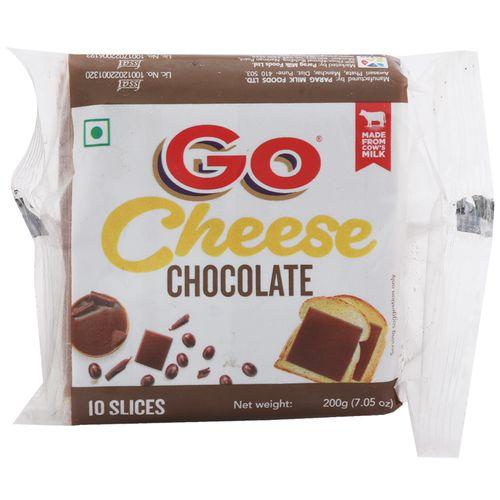 Go  Cheese Chocolate - Slice, 200 gm