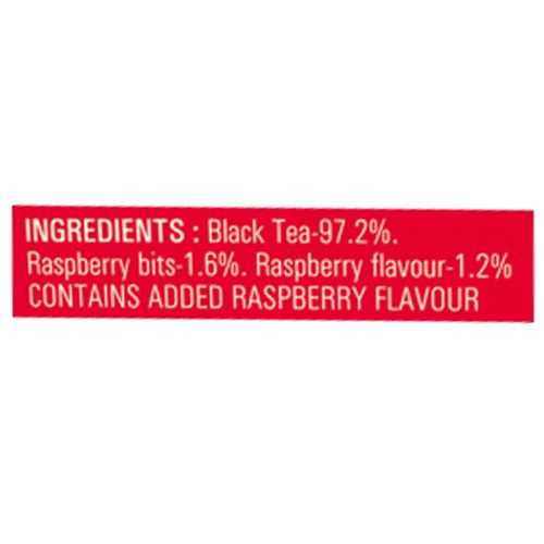 Teesta Lounge Classic Tea Bags - with Raspberry Bits, 20 pcs