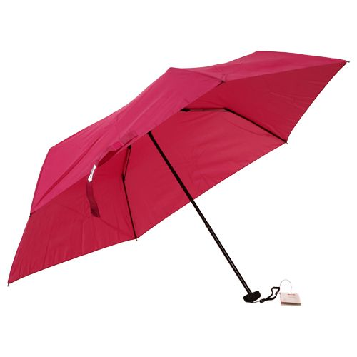 Parachase Umbrella - Three Fold, Windproof, Mejanta Coloured, 1 pc