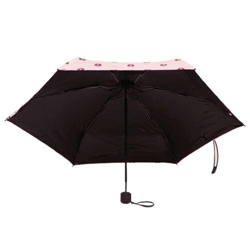 Daily Luck Umbrella - Three Fold, UV Rays Protection, Bear Printed, 1 pc
