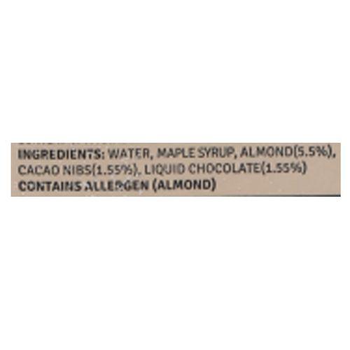 Raw Pressery Almond Milk Cacao - Lactose Free, Dairy Free, Vegan, 1 L