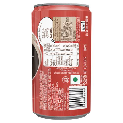 Nescafe  Coffee & Milk Beverage - Intense Cafe, 180 ml Can