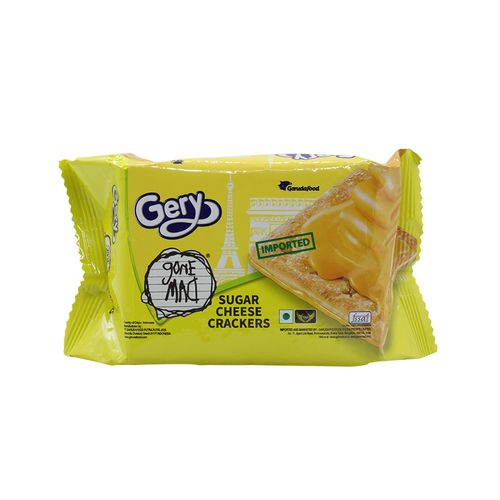 Gery Gone Mad Crackers - Cheese & Sugar, 110 g 10 Crackers