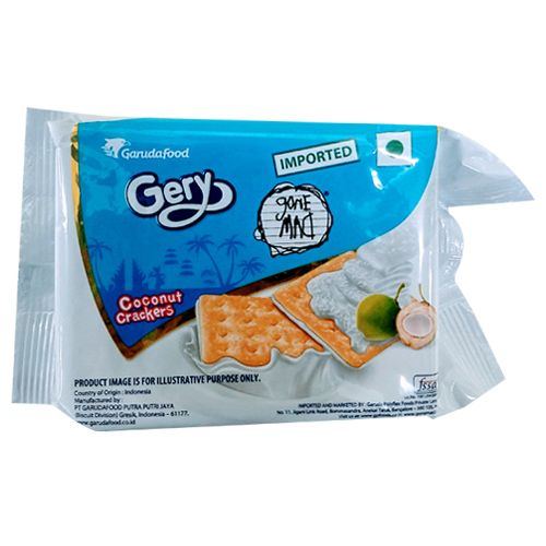 Gery Gone Mad Crackers - Coconut, Family Pack, 110 gm 10 Crackers