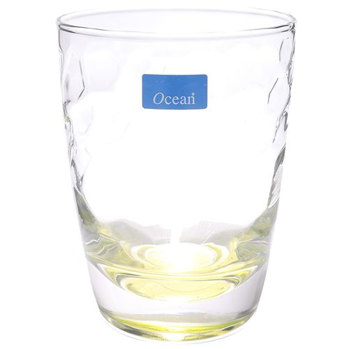 Ocean Water Glasses - Emerald Yellow, Expression, 370 ml Set of 6