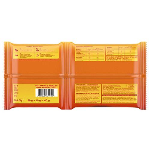Saffola Oats - Classic Masala, with Multigrain Crunchies, 40 g