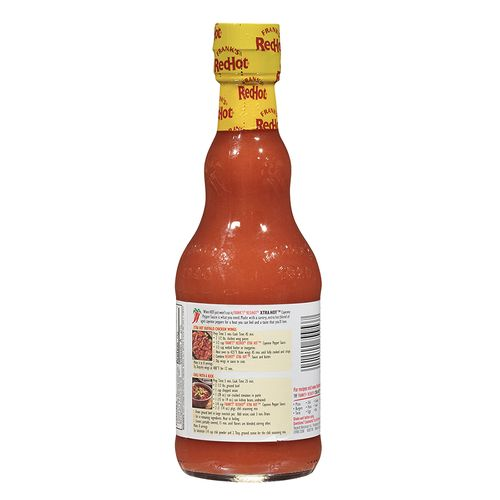 Frank's Redhot Xtra Hot Sauce, 354 ml