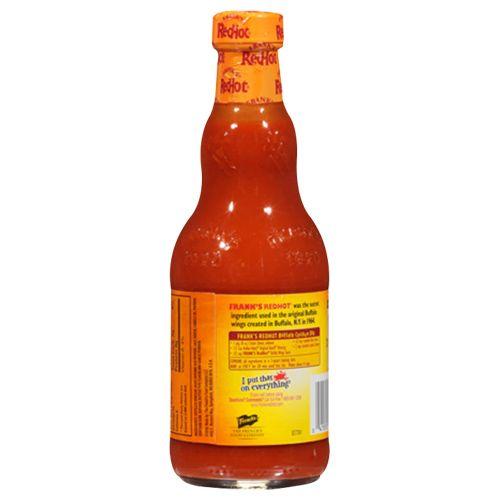Frank's Buffalo Wings Redhot sauce - Veg, 354 ml