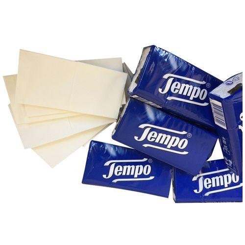 Tempo Classic Handkerchief - 4 Ply, 10 packs