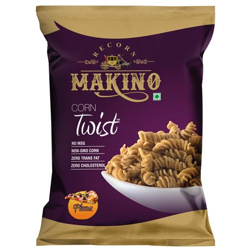 Makino Corn Twist - Pizza, 60 g