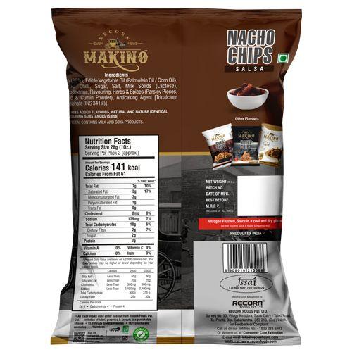 Makino Nacho Chips - Salsa, 60 g