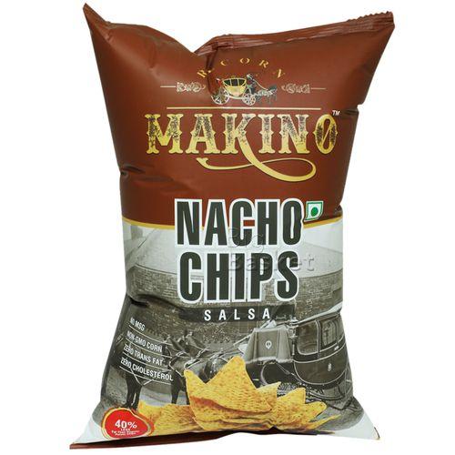 Makino Nacho Chips - Salsa, 150 g
