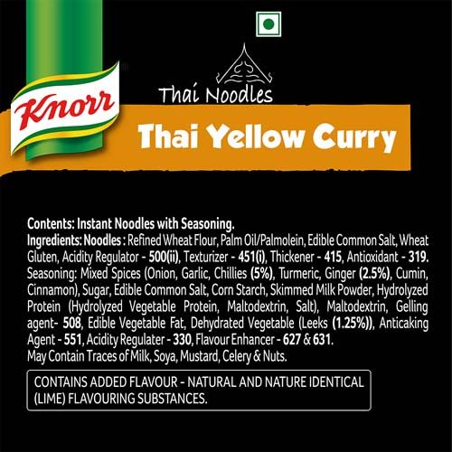 Knorr Noodles - Thai Yellow Curry, 69 g