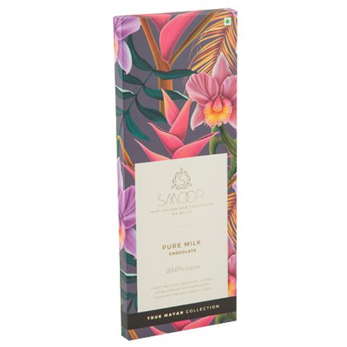 Smoor Mayan Bar - Pure Milk Chocolate, 100 gm