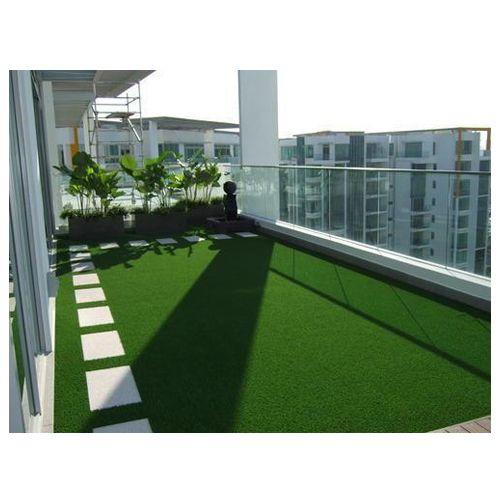 Trust Basket Turf Carpet Mat - Premium Quality, High Density Artificial Lawn Grass For Balcony, 6.5 X 2 Ft, 1 pc