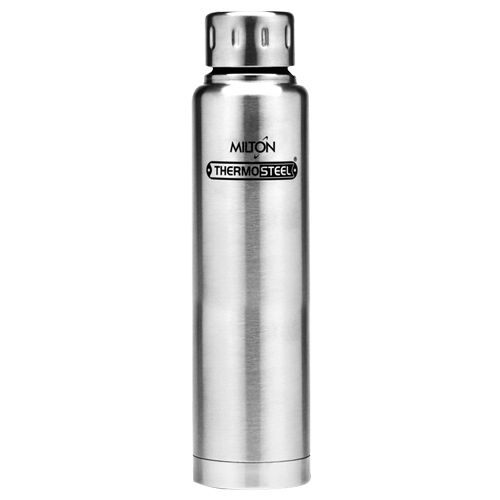 Milton Water Flask - Insulated Thermosteel, Silver, Elfin, 750 ml