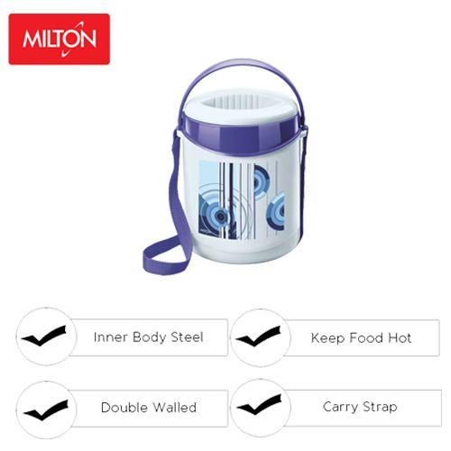 Milton Tiffin - Insulated Thermoware, Blue, Econa 3, 3 pcs