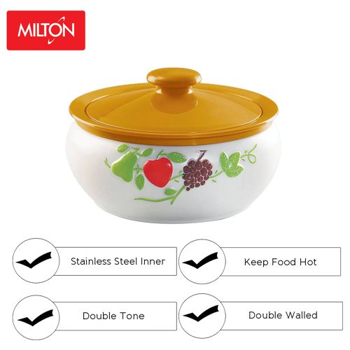 Milton Casserole - Insulated Thermoware, Orange, Orion, 1.5 L