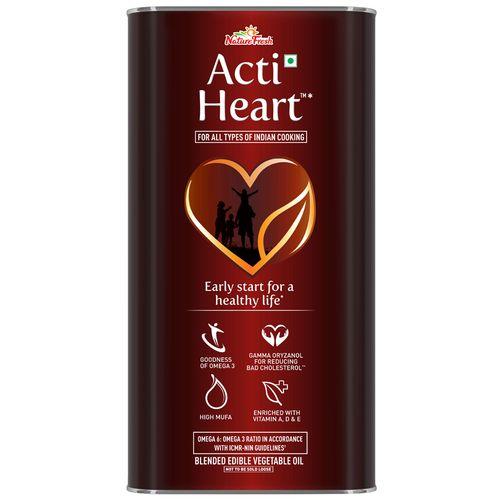 Nature Fresh Oil - Edible, Acti Heart, 5 L Tin