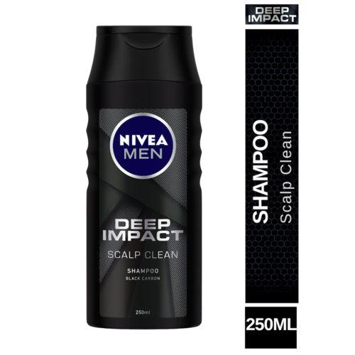 Nivea Deep Impact Scalp Clean Shampoo With Black Carbon, 250 ml