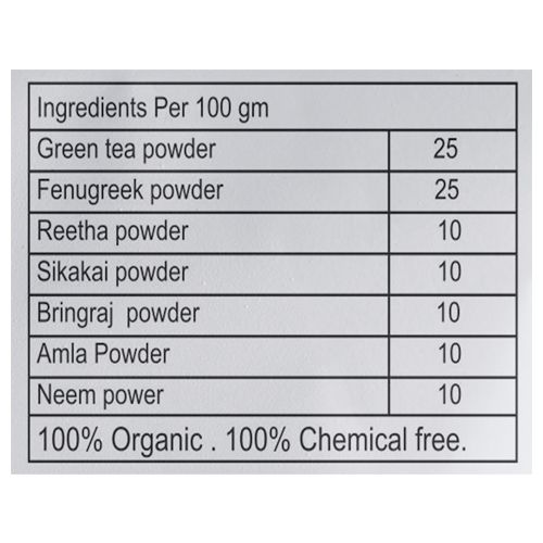 Healthsootra Hair Pack - Green Tea, 150 gm