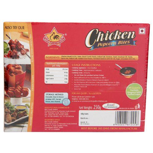 Republic of Chicken Popcorn Bites - Chicken, 250 gm