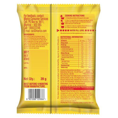 Saffola Masala Oats - Lemony Twist, 39 gm