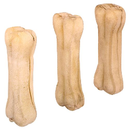 Chewers Dog Treat - Rawhide Pressed Bones, 3 Inches, 240 gm Contains 6 pcs