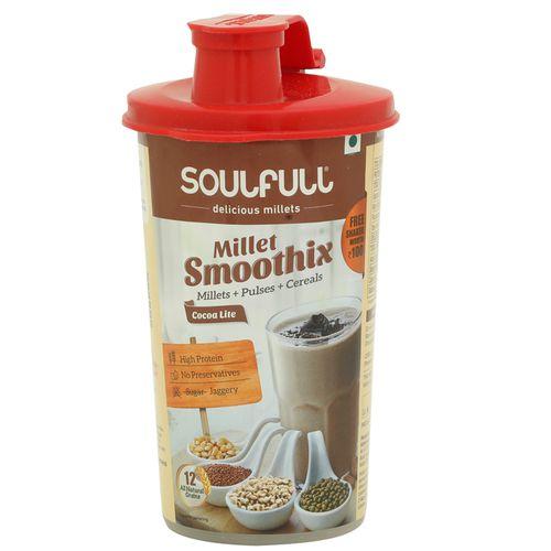 Soulfull Smoothix - Cocoa Lite, Shaker, 60 gm
