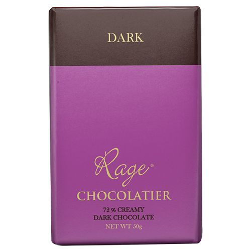 Rage Chocolate - 72% Dark, Creamy, 50 gm
