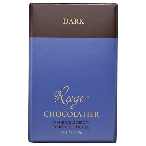 Rage Chocolate - 67% Dark, Single Origin, 50 gm
