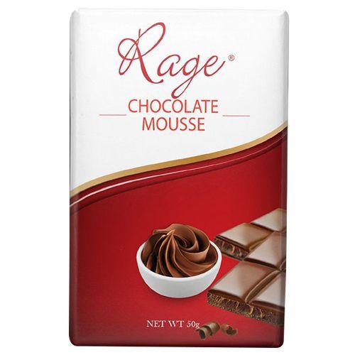 Rage Chocolate - Mousse, 50 gm